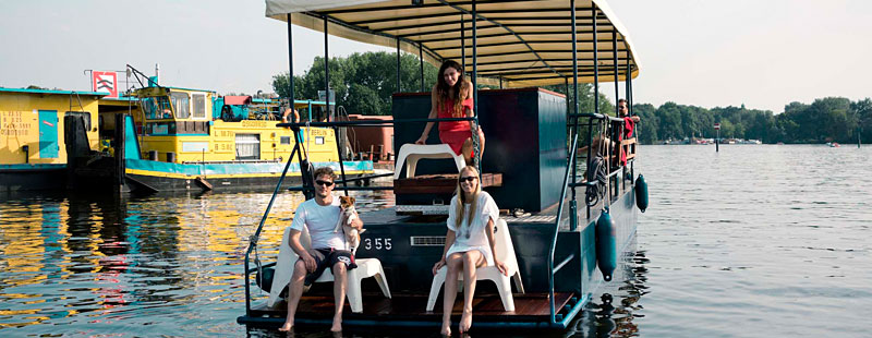 Mauerseglerboot Berlin